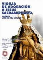 Vigilia en La Virgen del Camino